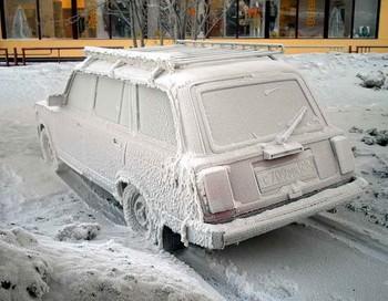 Машина замёрзла. Фото с сайта forumru.3dn.ru