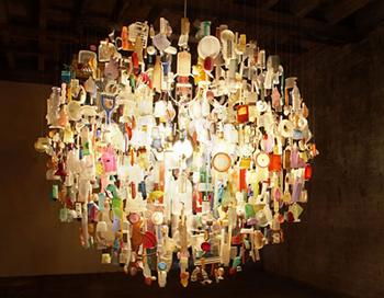 Удивительные светильники. Фото с сайта blogspot.com