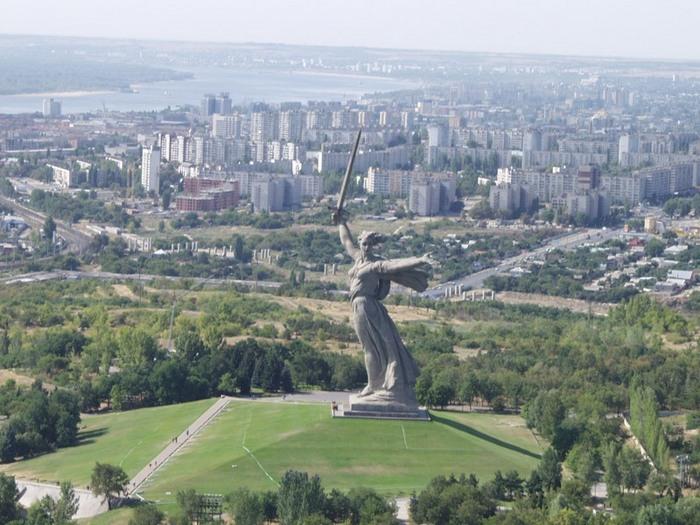Волгоград с высоты птичьего полёта. Фото с сайта fotki.yandex.ru