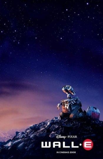 Кадр из мультфильма WALL-E . Фото с сайта LiveInternet.ru