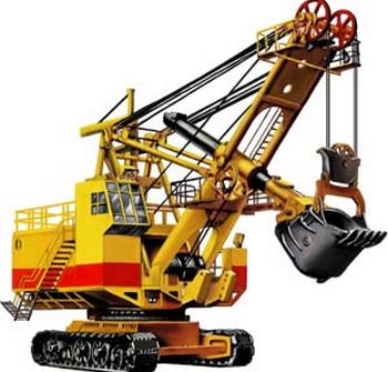 Экскаватора экг8. Фото с сайта http://zgokv.ru/excavator-ekg8/