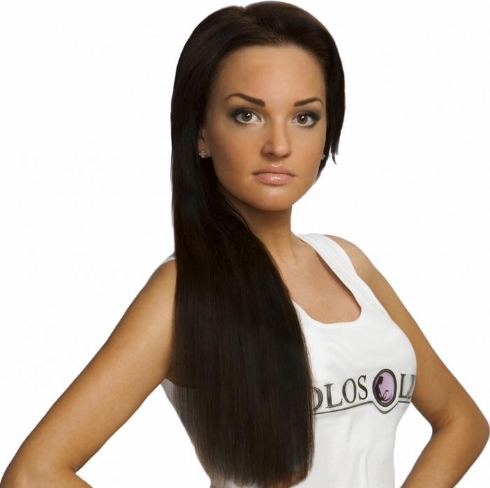 Капсульное наращивание волос. Фото с сайта  www.voloslux.ru/content