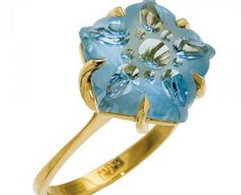 Кольцо с топазом в золоте. Фото с сайта  http://ruszol.ru/
