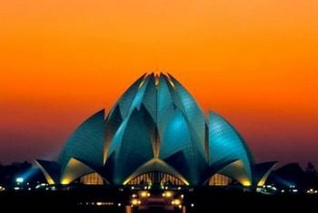 Храм Лотоса в Дели. Фото с сайта www.archandarch.ru