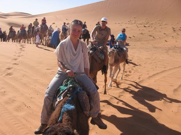 Африка в Новый Год. В Новый Год  под жарким солнцем пустыни. Фото: Таня Игауне