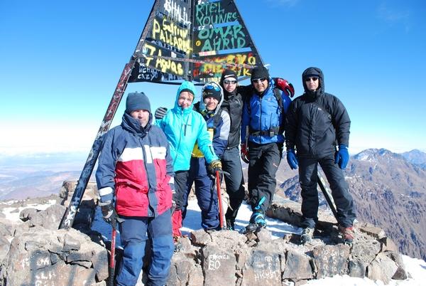 Африка в Новый Год. Мы на высоте 4167 метров над уровнем моря. Фото: Таня Игауне