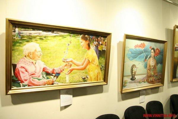 Международная художественная выставка «Истина Доброта Терпение» проходит в Виннице. Фото с сайта vinnitsa.info