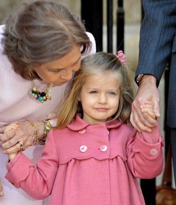 Языки любви. Похвала. Принцесса Леонор. Фото: Carlos Alvarez/Getty Images