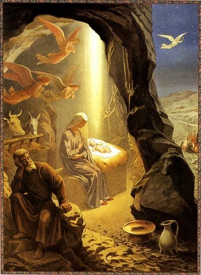 Рождество Христово. Григорий Гагарин. Фото сайта rojdestvo.paskha.ru