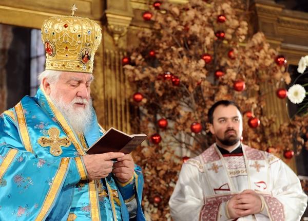 Рождество Христово. Рождественская служба в Сараево, Босния и Герцеговина. Фото:  ELVIS BARUKCIC/AFP/Getty Images