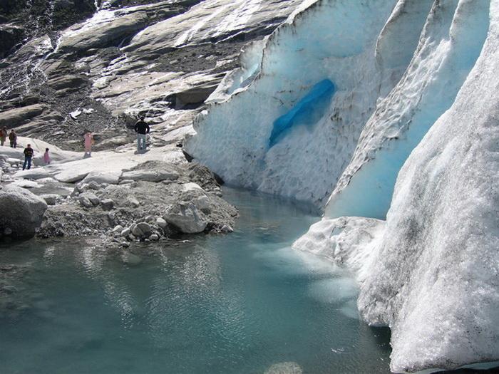 Ледник Нигардсбрин. Фото: Ирина Рудская/Великая Эпоха (The Epoch Times)
