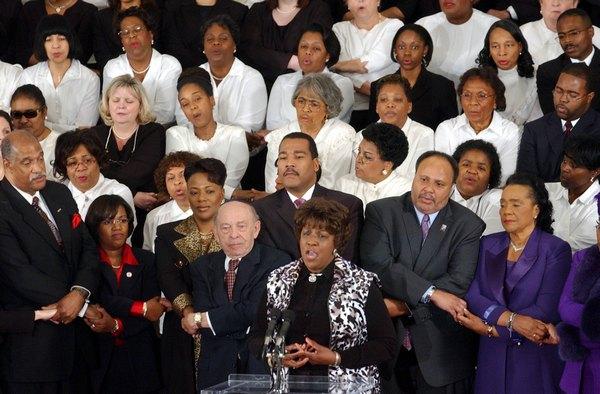 День Мартина Лютера Кинга. Фото:  Erik S. Lesser/Getty Images