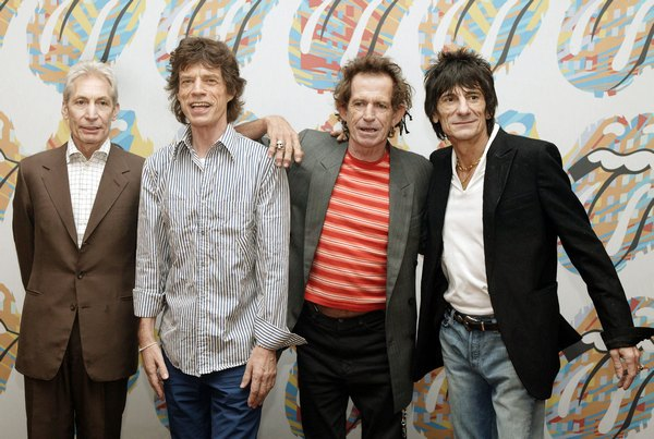 The Rolling Stones. Фото:  Dave Hogan/Getty Images