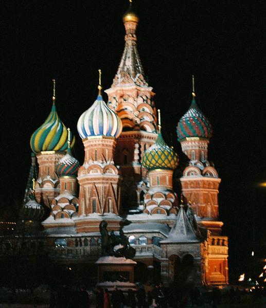 Собор Василия Блаженного на Красной площади. Фото: Бернда КРЕГЕЛЬ