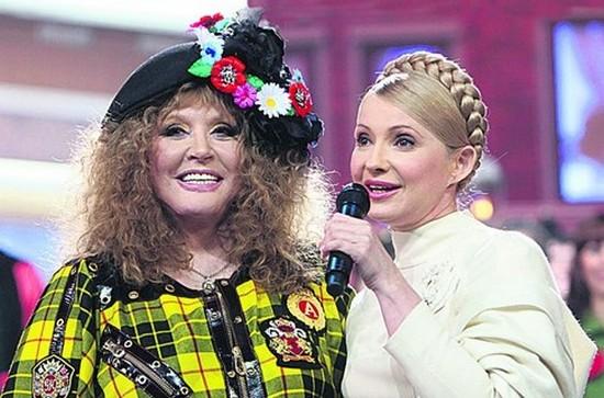 Алла Пугачева с Юлей Тимошенко на этот раз в Киеве не встретились.  Фото с сайта segodnya.ua