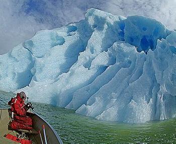 В Арктике появятся визит-центры для туристов. Фото с сайта guardian.co.uk