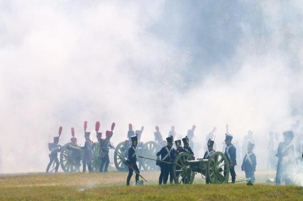 День «Бородина» отметили 7 сентября под Москвой.  Фоторепортаж. Фото: Oleg Nikishin/STR/AFP/Getty Images