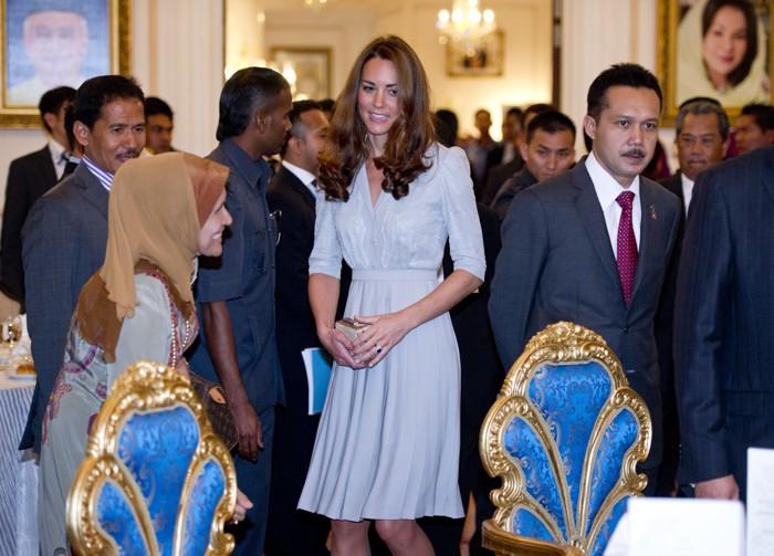 Катерина и принц Уильям прибыли в Малайзию. Фоторепортаж. Фото: Mark Large - Pool/Getty Images