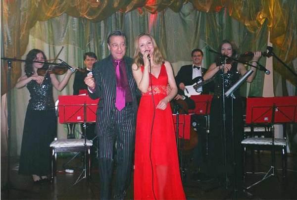 Геннадий Хазанов и Алиса Хазанова. Фото с сайта film.ru