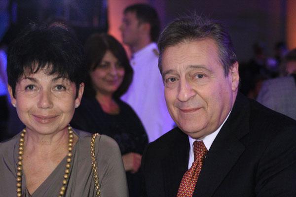 Геннадий Хазанов с супругой. Фото с сайта iosifkobzon.ru