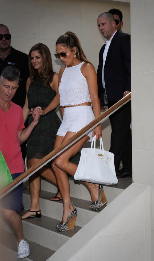 Дженнифер Лопес прибыла в Grand Hotel в Лас-Вегасе. Фоторепортаж. Фото: David Becker/Getty Images