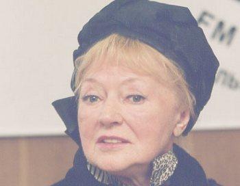 Людмила Касаткина празднует свое  85-летие. Фото с сайта old.echo.msk.ru