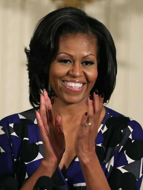 Мишель Обама в Белом доме провела церемонию награждения школьников из Сан-Франциско. Фоторепортаж. Фото: Mark Wilson/Getty Images