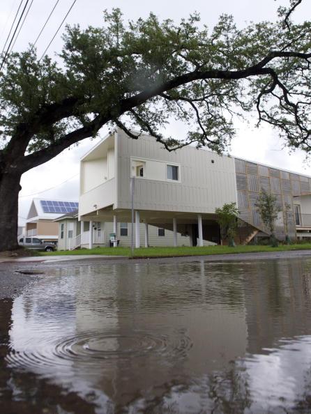 Новый Орлеан спустя пять лет после урагана «Катрина». Тогда и теперь. Фоторепортаж. Фото: ROD LAMKEY JR/AFP/Getty Images