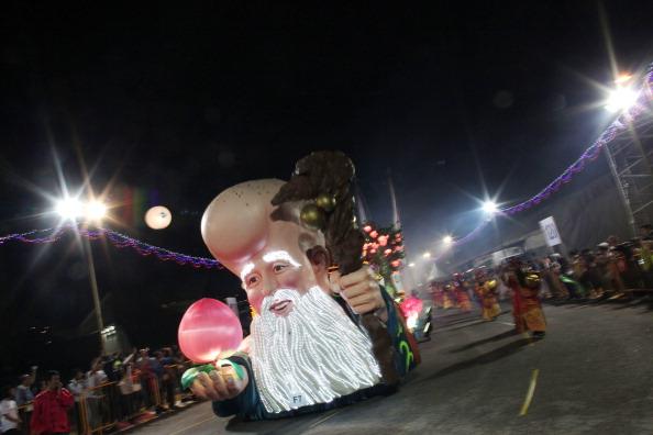 Чингэй парад в Сингапуре. Фото: Chris McGrath/Getty Images
