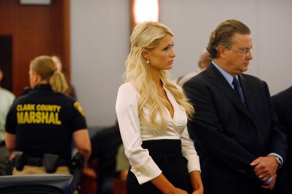 Пэрис Хилтон в суде. Фоторепортаж.