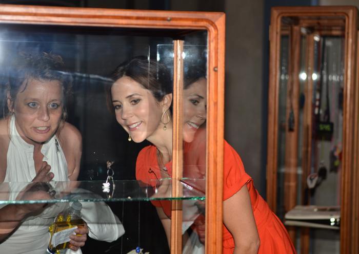 Принцесса Дании Мэри посетила церемонию премий St. Petersburg Loye  в Датском музее. Фоторепортаж. Фото: Torsten Laursen/Getty Images