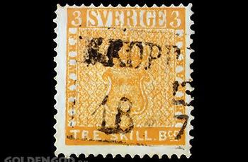 Treskilling yellow  - «Желтый трехскиллинг». Фото с сайта goldengod.ru