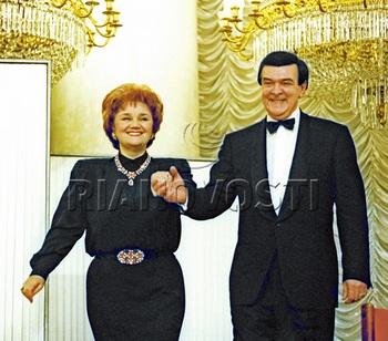 Тамара Синявская и Муслим Магомаев. Фото с сайта vesti.az