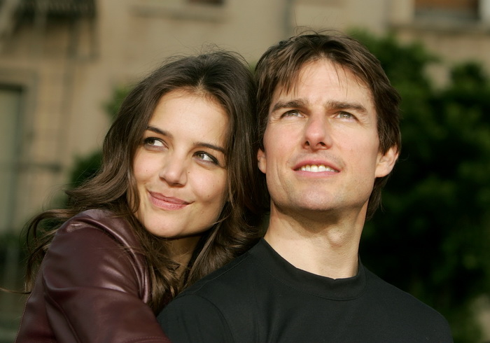 Tom Cruise  и  Katie Holmes. Фото: Kevin Winter/Getty Images