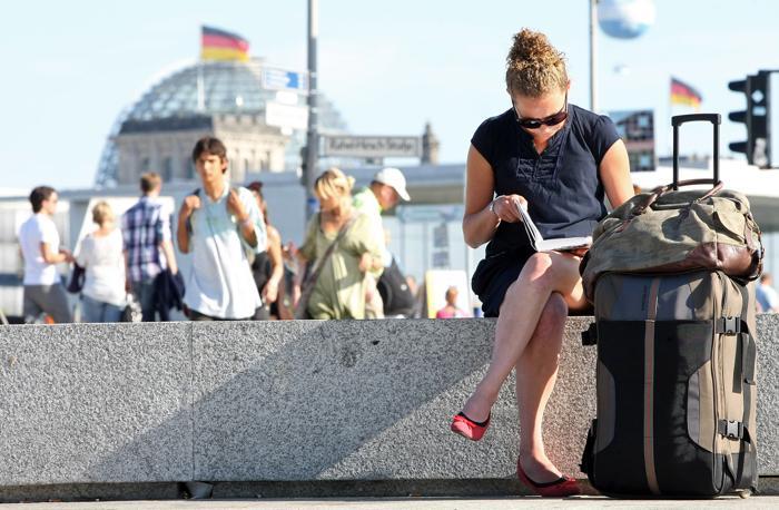 Берлин – любимый  город  туристов.  Часть 2. Фоторепортаж.  Фото: Adam Berry/Getty Images