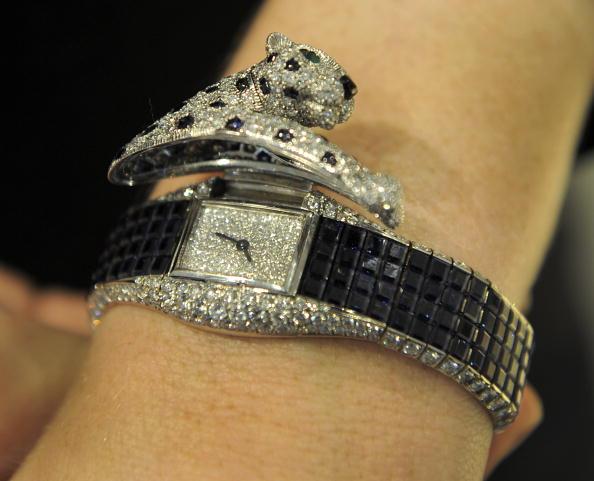 Бриллиантовые наручные часы