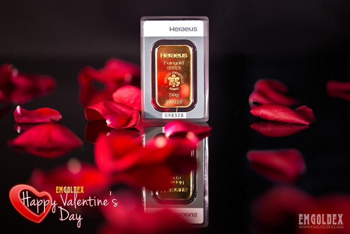EmGoldex - идеальный подарок на день Святого Валентина. Фото: emgoldex.com