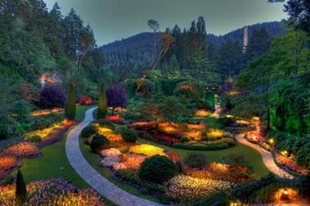 Лучшие сады мира. Бутчарт, Ванкувер, Канада. Фото: tomatoz.ru