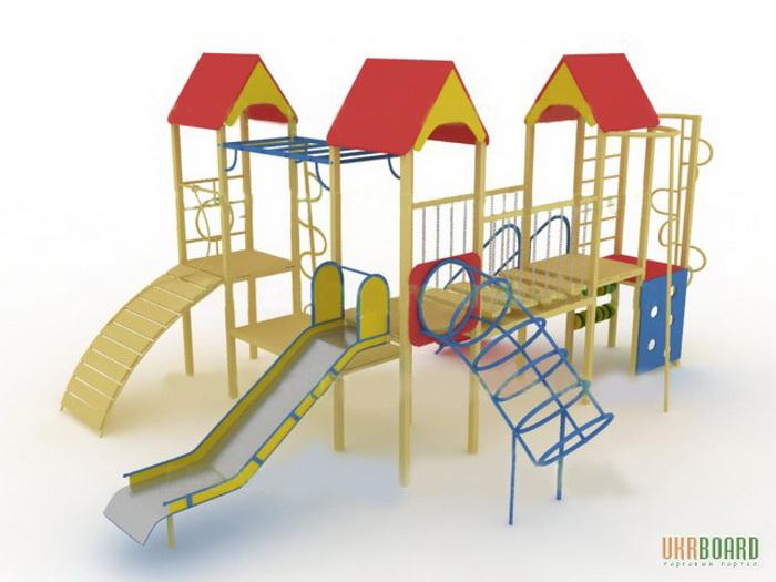 Основные сведения о детских игровых комплексах. Фото: ukrboard.com.ua