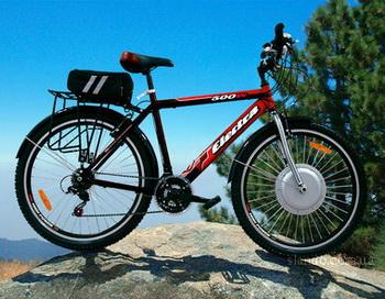 Электровелосипед.  Фото: electra.com.ua