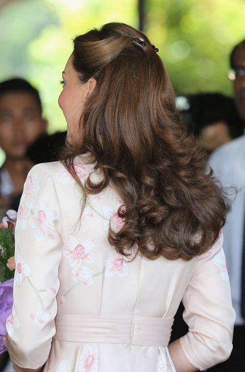 Герцогиня Кембриджская в ботаническом саду Сингапура. Фоторепортаж. Фото: Nicky Loh/Getty Images