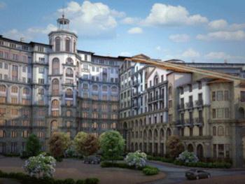 Настоящий Итальянский квартал в Москве! Фото: http://new.afy.ru/00164.html