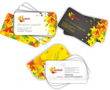 Изготовление визиток – качественная продукция Центральной типографии в Перми. Фото: print-service.satu.kz