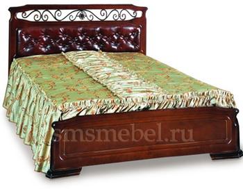 Качественная кровать – залог здорового сна. Фото: smsmebel.ru