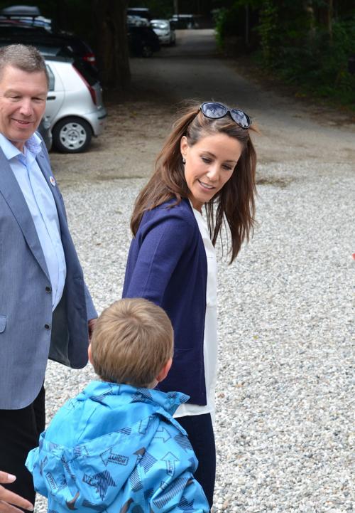 Принцесса Дании Мария посетила деревню отдыха Elsinore национальной ассоциации  аутизма. Фоторепортаж. Фото: Torsten Laursen/Getty Images