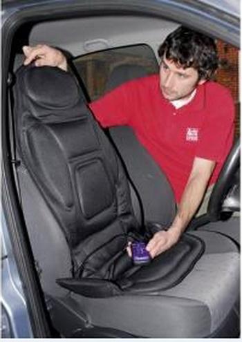 Массажная накидка для здоровья водителя. Фото: 4massage.biz