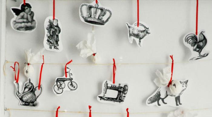Ажурные ёлочки из бумаги своими руками