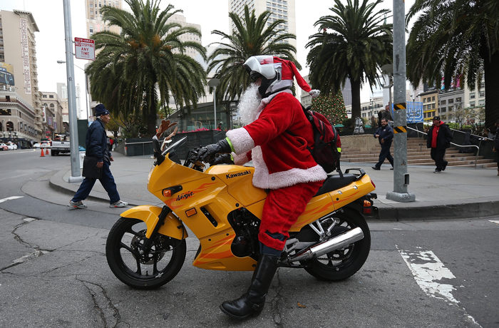 Сан-Франциско готовится к Рождеству. Фоторепортаж. Фото:  Justin Sullivan/Getty Images