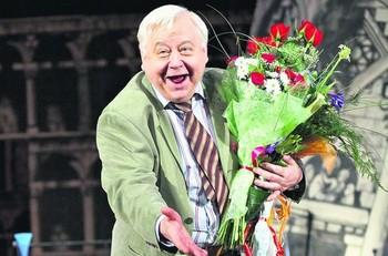 Юбилей Табакова отметили во МХАТе имени Чехова. Фото с сайта segodnya.ua