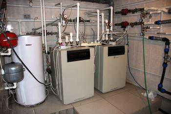 Тепловые насосы, геотермальное отопление.  Фото: netgaza.ru